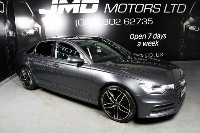 2013 09 AUDI A6 DECEMBER 2013 AUDI A6 2.0 TDI S LINE BLACK EDITION AUTO 175 BHP (FINANCE AND WARRANTY)