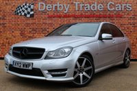USED 2012 12 MERCEDES-BENZ C CLASS 2.1 C220 CDI BLUEEFFICIENCY SPORT 4d 168 BHP