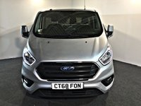 USED 2018 68 FORD TRANSIT CUSTOM 2.0 300 LIMITED P/V L1 H1 129 BHP JUST SERVICED BY FORD