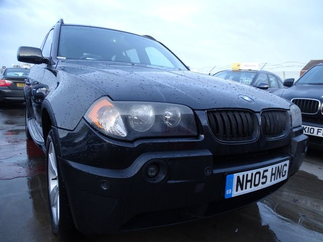 USED 2005 05 BMW X3 2.5 SPORT 5d 190 BHP DRIVES A1 MUST SEE