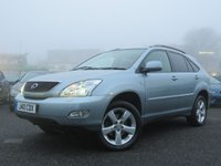 2005 LEXUS RX 3.0 300 LE 5d 204 BHP £2499.00