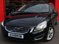 2012 VOLVO S60 2.0 D4 SE LUX 4d 161 S/S £6483.00