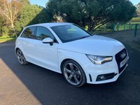 USED 2014 14 AUDI A1 1.4 SPORTBACK TFSI BLACK EDITION 5d 138 BHP LOCAL CAR WITH FSH SLINE BLACK EDITION 5DOOR IN WHITE