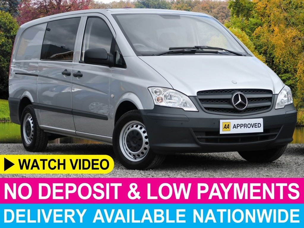 USED 2015 64 MERCEDES-BENZ VITO 113 CDI AUTO 2.1 DUALINER LONG 5 SEAT COMBI  AUTOMATIC CRUISE AC TAIL GATE