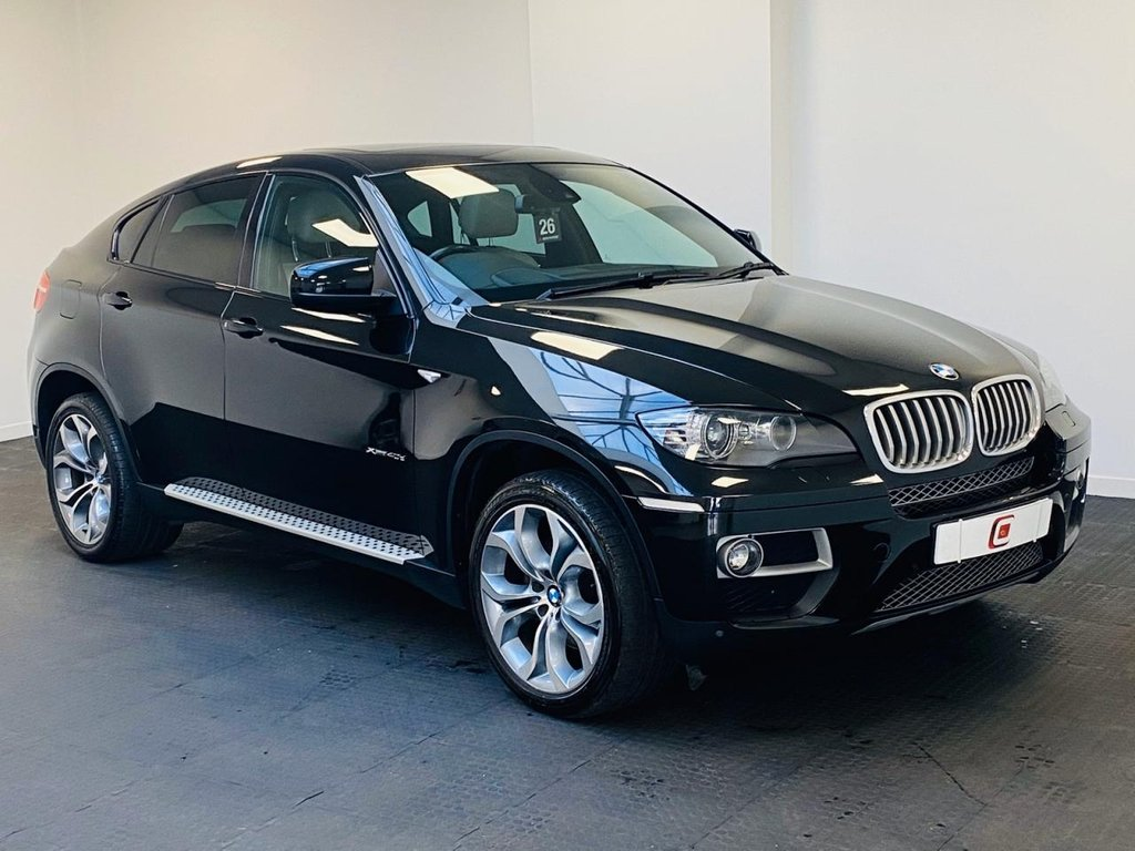 USED 2014 14 BMW X6 3.0 XDRIVE40D 4d 302 BHP CREAM LEATHER + 20 INCH ALLOYS + FULL HISTORY + SAT NAV + ONLY 51K MILES