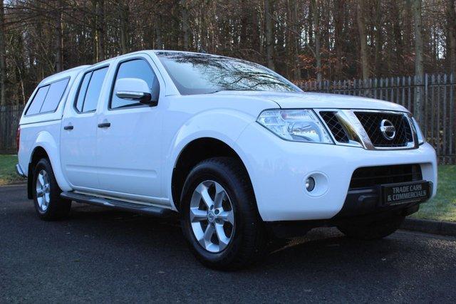 2015 15 NISSAN NAVARA Double Cab Pick Up Acenta 2.5dCi 190 4WD