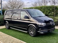 USED 2016 66 VOLKSWAGEN TRANSPORTER 2.0 T32 TDI W/V BMT 147 BHP A Superb Example of the Ultimate Crew Cab Van with Full VW Main Dealer Service History and an Excellent Specification to Include: Bluetooth Connectivity + DAB Radio + Park Distance Control, 20 Inch Wolfrace Graphite Grey Alloy Wheels, Leather Multi Function Steering Wheel, Cruise Control, Chrome Side Tubes and Roof Rails, Climate Control, Heated Electric Powerfold Mirrors, Automatic Headlights, Quick Clear Front Windscreen, Privacy Glass