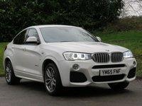 2015 BMW X4 3.0 XDRIVE30D M SPORT 4d 255 BHP £22990.00