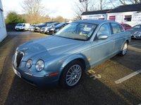 2006 JAGUAR S-TYPE 2.7 V6 SE 4d 206 BHP £2695.00