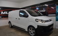 2017 CITROEN DISPATCH 2.0 M 1400 X BLUEHDI S/S 121 BHP £9999.00