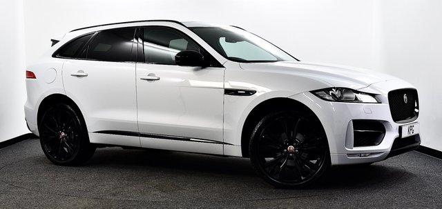 USED 2016 16 JAGUAR F-PACE 2.0d R-Sport Auto AWD (s/s) 5dr £6k Extras, Pan Roof, Black Pk