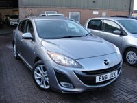 USED 2012 61 MAZDA 3 1.6 TAKUYA 5d 105 BHP ANY PART EXCHANGE WELCOME, COUNTRY WIDE DELIVERY ARRANGED, HUGE SPEC
