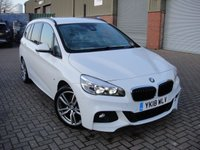 USED 2018 18 BMW 2 SERIES 1.5 218I M SPORT GRAN TOURER 5d 134 BHP ANY PART EXCHANGE WELCOME, COUNTRY WIDE DELIVERY ARRANGED, HUGE SPEC