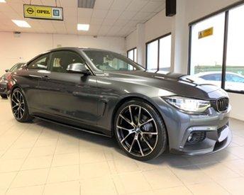 2017 BMW 4 SERIES 2.0 420D M SPORT 188 BHP M-PERFORMANCE KIT,PROFESSIONAL MEDIA