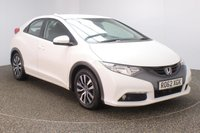 USED 2012 62 HONDA CIVIC 1.6 I-DTEC ES 5DR 118 BHP FULL SERVICE HISTORY + FREE 12 MONTHS ROAD TAX + REVERSE CAMERA + BLUETOOTH + CRUISE CONTROL + CLIMATE CONTROL + MULTI FUNCTION WHEEL + RADIO/CD/AUX/USB + ELECTRIC WINDOWS + ELECTRIC/HEATED/FOLDING DOOR MIRRORS + 16 INCH ALLOY WHEELS