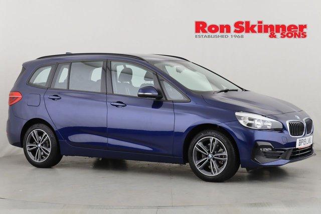 View our 2019 19 BMW 2 SERIES 1.5 218I SPORT GRAN TOURER 5d 139 BHP