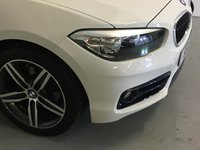"""USED 2016 66 BMW 1 SERIES 1.5 118I SPORT 5d 134 BHP Absolutely Immaculate BMW 118i Sport 5 Door With The Fabulous 1.5 Twin Power Turbo Engine,  Finished In Unmarked Alpine White With Contrasting Anthracite Sports Upholstery, Just 17,700 Miles With A Full Stratstone Service History And All With The Same Family From 3 Months Old, Stunning Looking Car With Lovely Two Tone 17"""" Twin Spoke Alloys, Sports Seats, Sports Suspension, Satellite Navigation, DAB Radio And Bluetooth Too, Absolutely Fab To Drive, Both Smooth And Sporty And Cracking Value Too"""