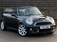2012 MINI CONVERTIBLE 1.6 COOPER S HIGHGATE 2d 181 BHP £8995.00