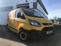 2015 FORD TRANSIT CUSTOM 2.2 310 LR P/V 124 BHP SOLD