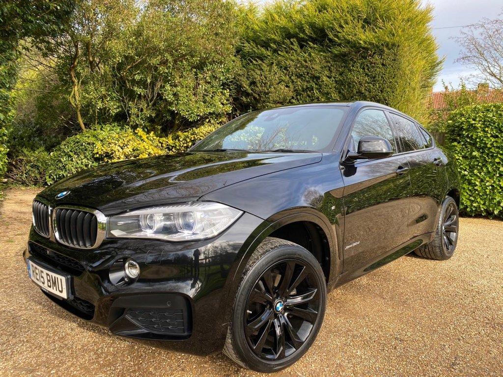 USED 2015 15 BMW X6 3.0 XDRIVE30D M SPORT 4d 255 BHP