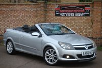 USED 2006 56 VAUXHALL ASTRA 1.8 TWIN TOP DESIGN 3d 140 BHP