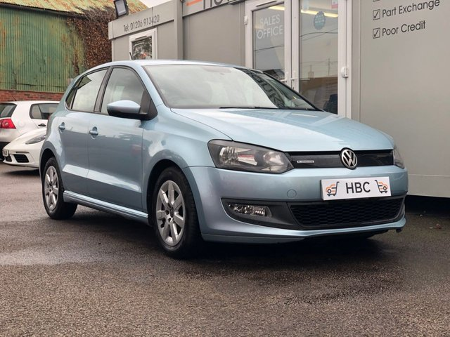 2011 60 VOLKSWAGEN POLO 1.2 BLUEMOTION TDI 5d 74 BHP