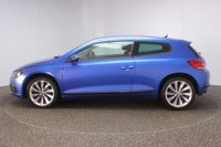 USED 2010 60 VOLKSWAGEN SCIROCCO 1.4 TSI 3DR 121 BHP SERVICE HISTORY + AIR CONDITIONING + RADIO/CD + ELECTRIC WINDOWS + ELECTRIC MIRRORS + 18 INCH ALLOY WHEELS