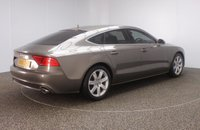 USED 2011 61 AUDI A7 3.0 TDI SE 5DR AUTO 204 BHP + SAT NAV + LEATHER + FSH  FULL SERVICE HISTORY + HEATED LEATHER SEATS + SATELLITE NAVIGATION + PARKING SENSOR + HEAD-UP DISPLAY + BLUETOOTH + CRUISE CONTROL + CLIMATE CONTROL + MULTI FUNCTION WHEEL + ELECTRIC/MEMORY FRONT SEATS + DAB RADIO + XENON HEADLIGHTS + PRIVACY GLASS + ELECTRIC WINDOWS + ELECTRIC/HEATED/FOLDING DOOR MIRRORS + 18 INCH ALLOY WHEELS