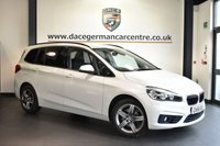 "USED 2016 66 BMW 2 Series GRAN TOURER 1.5 216D SPORT GRAN TOURER 5DR 114 BHP full service history  Finished in a stunning mineral metallic white styled with 17"" alloys. Upon entry you are presented with anthracite upholstery, full service history, satellite navigation, bluetooth, parking sensors, sport seats, light package, automatic air conditioning, rain sensors, dab radio, connected drive services"