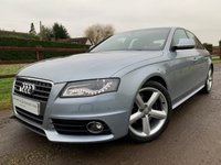"USED 2009 58 AUDI A4 1.8 TFSI S LINE 4d 158 BHP 5"" ON BOARD COMPUTER FRONT AND REAR PARK ASSIST DYNAMIC HEADLIGHTS SPORTS SEATS"