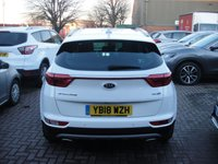 USED 2018 18 KIA SPORTAGE 1.6 GT-LINE 5d 174 BHP ANY PART EXCHANGE WELCOME, COUNTRY WIDE DELIVERY ARRANGED, HUGE SPEC
