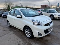 USED 2013 63 NISSAN MICRA 1.2 ACENTA 5d 79 BHP SERVICE HISTORY