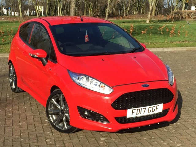 USED 2017 17 FORD FIESTA 1.0 ST-LINE 3d 100 BHP