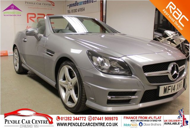 USED 2014 14 MERCEDES-BENZ SLK 2.1 SLK250 CDI BLUEEFFICIENCY AMG SPORT 2d 204 BHP Upgraded Spec Including Nappa Leather Seats - RAC Platinum Warranty Included