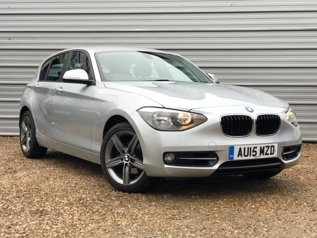 USED 2015 15 BMW 1 SERIES 2.0 120D SPORT 5d 181 BHP 188BHP 8 Speed Auto +Nav