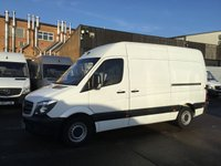 USED 2017 17 MERCEDES-BENZ SPRINTER 2.1 314 CDI MWB HIGH ROOF 140BHP. EURO6. LOW 37K MILES. PX EURO6 ULEZ. VERY LOW 37K MILES. WARRANTY. PX. FINANCE.