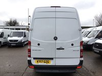 USED 2017 17 MERCEDES-BENZ SPRINTER 2.1 314 CDI LWB HIGH ROOF 140BHP EURO 6. LOW 38K MILES. FINANCE EURO 6 ULEZ. LOW 38K MILES. LOW FINANCE. PX WELCOME