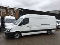 USED 2015 15 MERCEDES-BENZ SPRINTER 2.1 313CDI LWB HIGH ROOF 130BHP. 102K MILES. REVERSE CAMERA. PX REVERSE CAMERA. LOW FINANCE. 102K MILES. HUGE CHOICE.