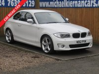 2012 BMW 1 SERIES 2.0 118D EXCLUSIVE EDITION 2d 141 BHP £6495.00
