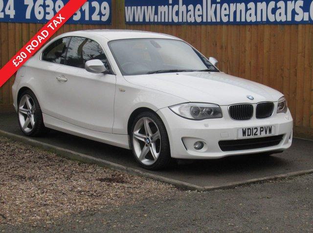 USED 2012 12 BMW 1 SERIES 2.0 118D EXCLUSIVE EDITION 2d 141 BHP FSH, BLUETOOTH, AUX/ USB INPUT