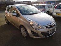 2011 VAUXHALL CORSA 1.4 SE 5d 98 BHP £3595.00