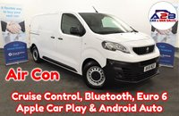 USED 2018 18 PEUGEOT EXPERT  1.6 BLUE HDI PROFESSIONAL STANDARD with Air Conditioning, Bluetooth, Apply Car Play & Android Auto, Rear Parking Sensors, Cruise Control and much more ** Drive Away Today** Over The Phone Low Rate Finance Available, Just Call us on 01709 866668 **