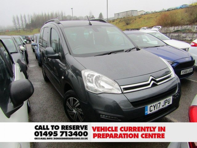 View our 2017 17 CITROEN BERLINGO MULTISPACE 1.6 BLUEHDI PLATINUM ETG6 5d AUTO 98 BHP