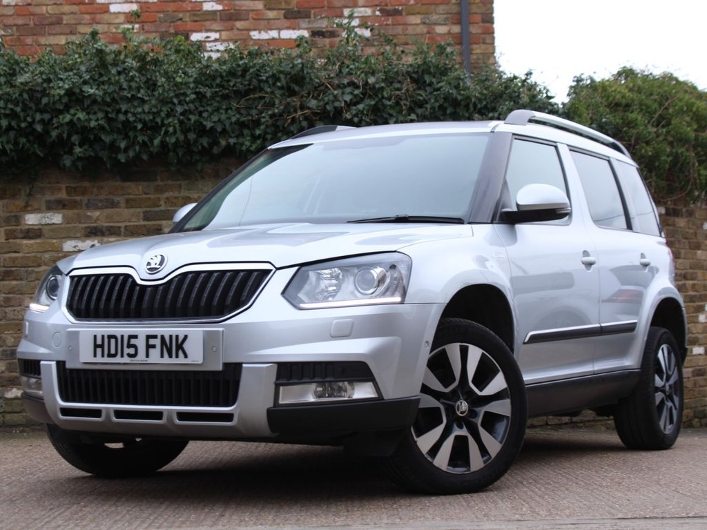 USED 2015 15 SKODA YETI 2.0 OUTDOOR LAURIN AND KLEMENT TDI DSG SCR 5d 148 BHP