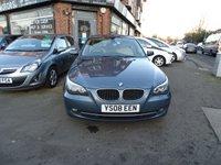 USED 2008 08 BMW 5 SERIES 2.0 520D SE 4d 175 BHP