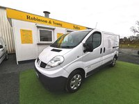 USED 2014 64 RENAULT TRAFIC 2.0 SL27 DCI S/R 115 BHP *RARE LAST OF THE 2 LITRE*