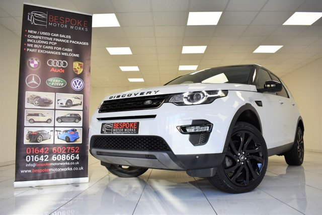 2017 17 LAND ROVER DISCOVERY SPORT 2.0 TD4 HSE LUXURY AUTOMATIC