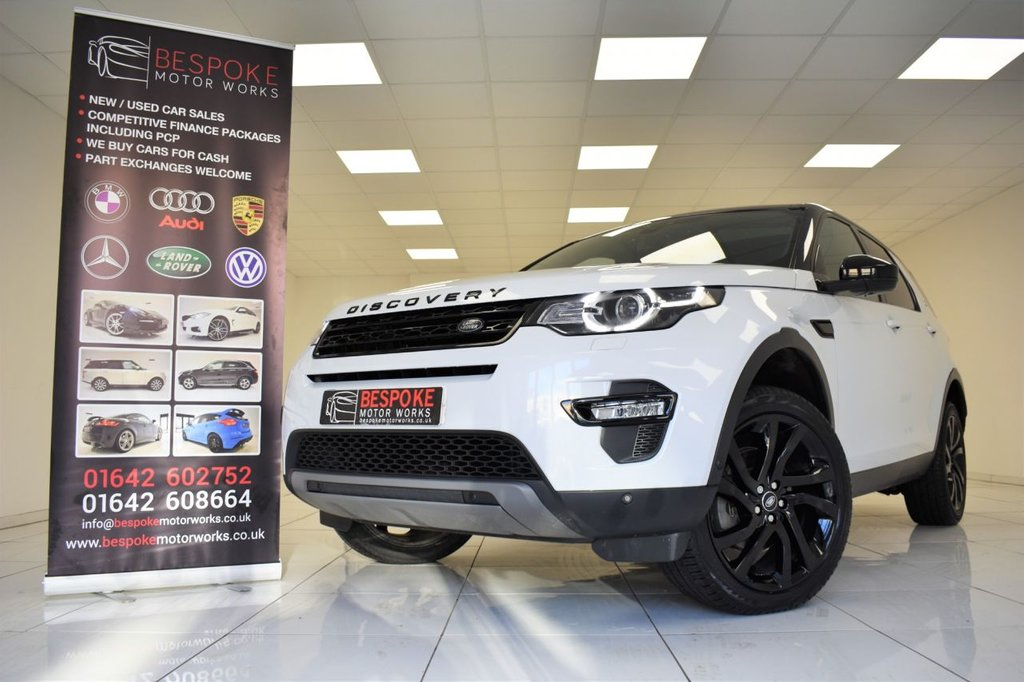 USED 2017 17 LAND ROVER DISCOVERY SPORT 2.0 TD4 HSE LUXURY AUTOMATIC