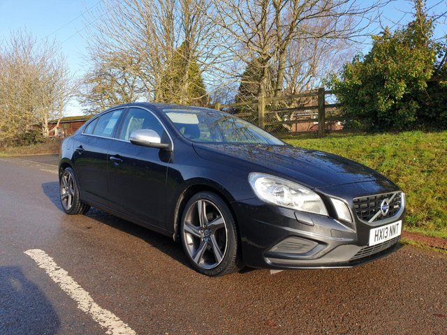 USED 2013 13 VOLVO S60 1.6 DRIVE R-DESIGN S/S 4d 113 BHP **MOT**FULL SERVICE HISTORY**CHEAP ROAD TAX**GREAT CONDITION**
