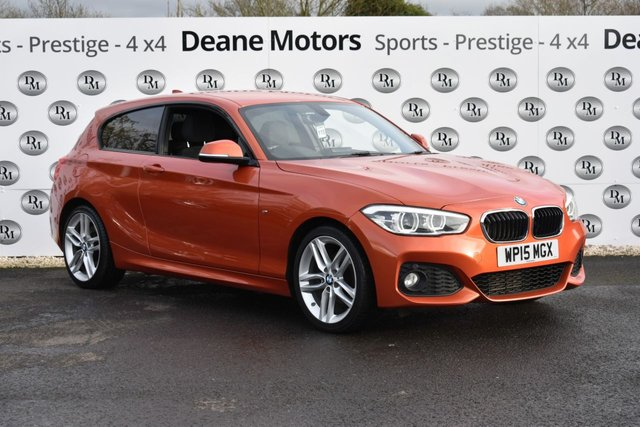 2015 15 BMW 1 SERIES 2.0 120D M SPORT 3d 188 BHP SATNAV HEATED SEATS